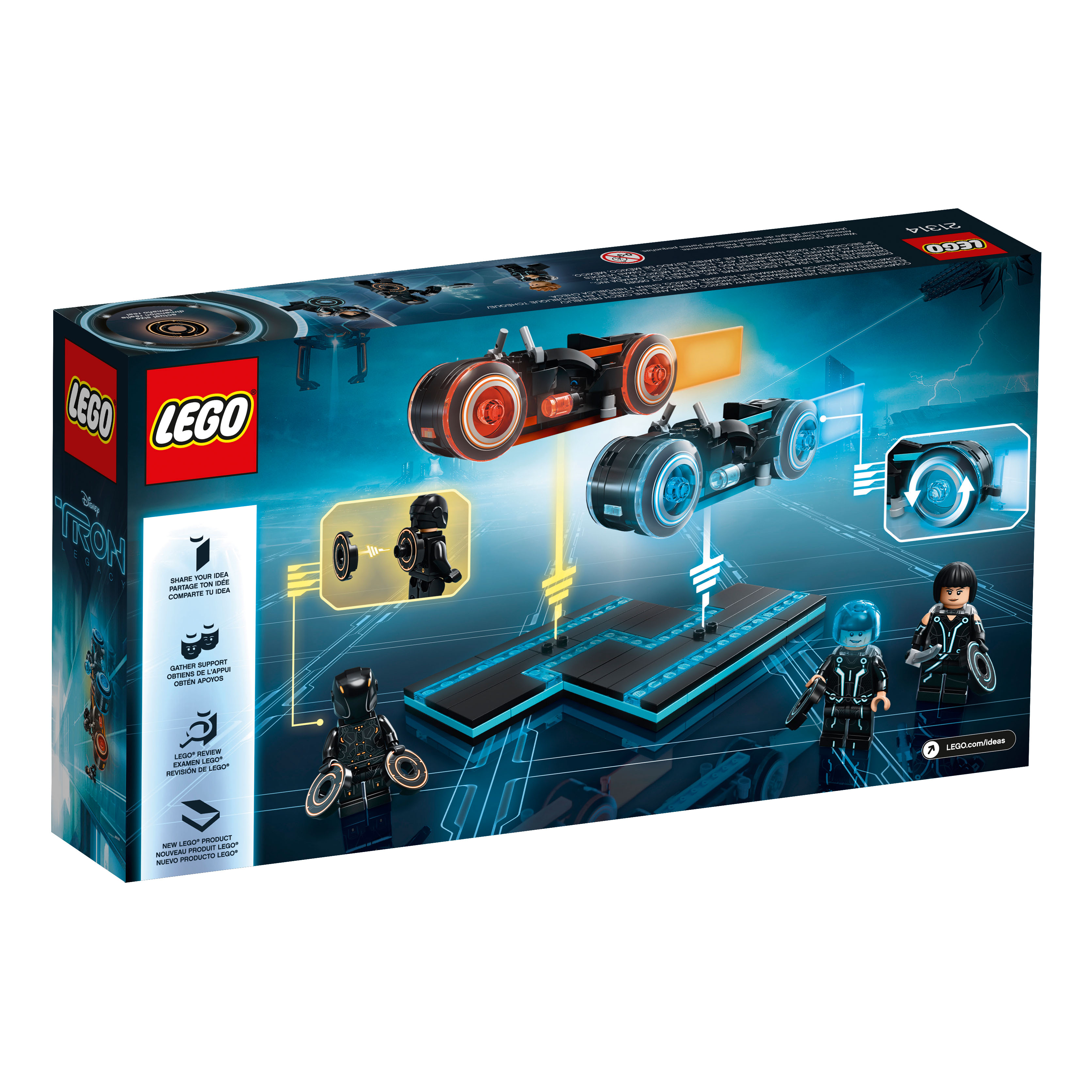 lego ideas tron legacy 21314 officially announced the. Black Bedroom Furniture Sets. Home Design Ideas